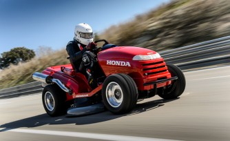 Honda Sets World Record for Fastest. . .  Lawnmower?