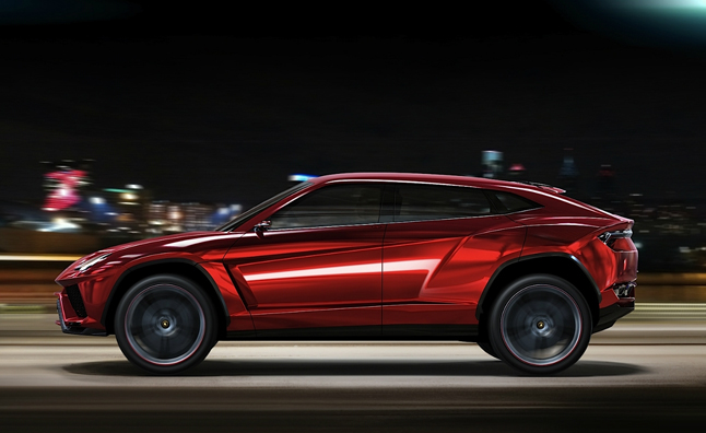 Lamborghini Urus SUV Entering Production in 2017