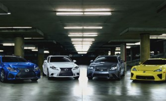 Lexus F Ad Hints at What the F Really Stands For