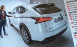 Lexus NX Crossover Leaked Ahead of Beijing Debut