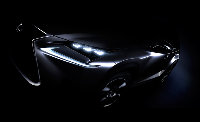 2015 Lexus NX Teased Ahead of Beijing Motor Show Debut