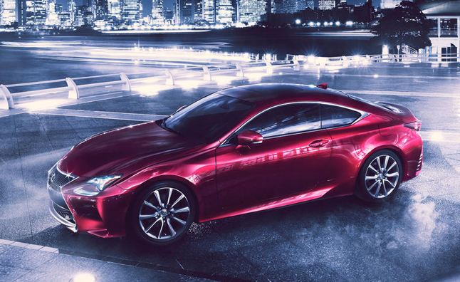 Lexus RC, GS to Gain Turbo Four-Cylinder Next Year