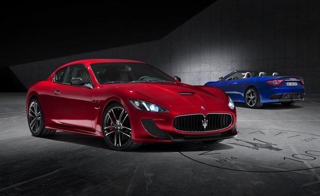 Special Edition Maseratis Painted in Bologna Colors
