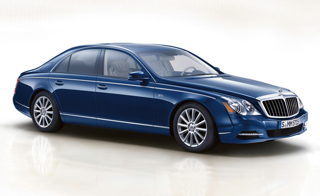 Mercedes Maybach Successor Heading to 2014 LA Auto Show