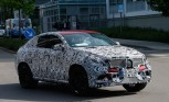 Mercedes MLC Spied Testing as BMW X6 Fighter