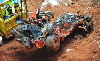 Final Corvette Pulled From Museum Sinkhole