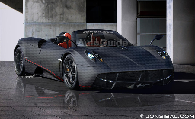 Pagani Huayra Roadster Expected Within Two Years