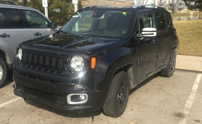 2015 Jeep Renegade Spotted in the Wild
