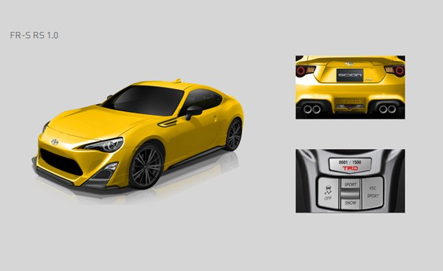 Scion FR-S Release Series 1.0 Coming this Fall