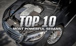 Top 10 Most Powerful Sedans