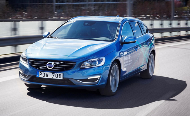 Volvo Testing Self-Driving Cars on Public Roads