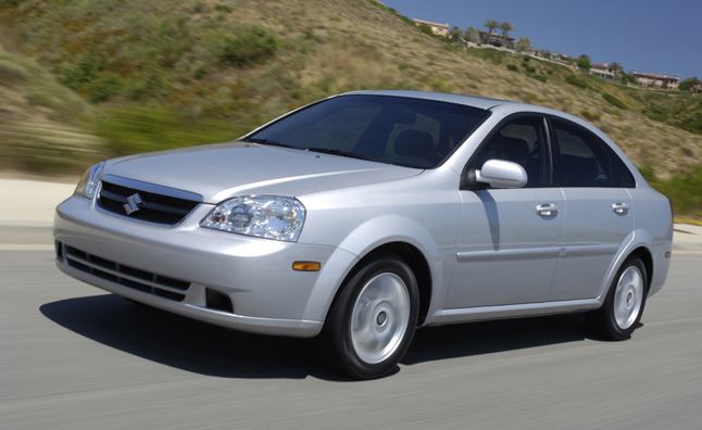 Suzuki Recalling 184K GM-Built Vehicles