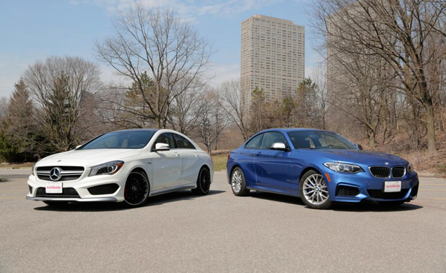 2014-BMW-M235i-vs-2014-Mercedes-Benz-CLA-45-AMG