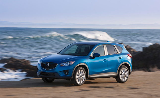 2015 Mazda CX-5 Earns NHTSA Five-Star Safety Rating