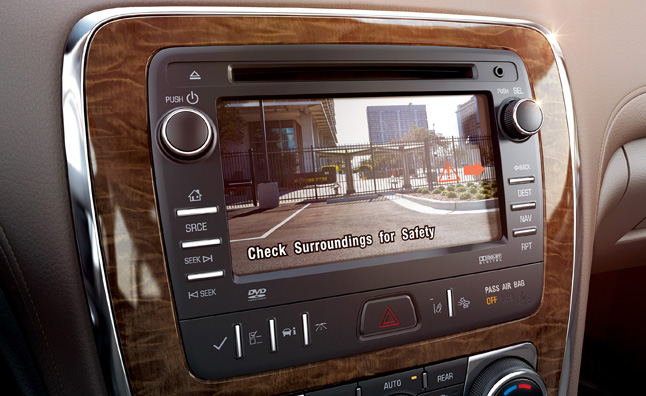 All 2015 Buicks to have Standard Rearview Camera
