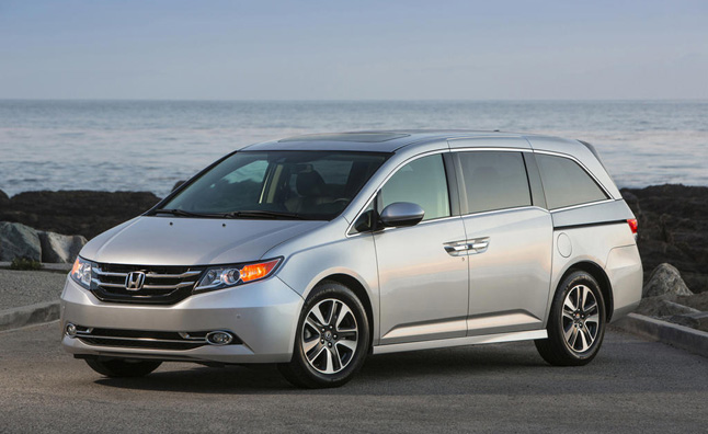 2014 Honda Odyssey Recalled for Airbag Issue