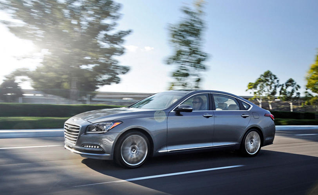 2015 Hyundai Genesis Awarded IIHS Top Safety Pick Plus