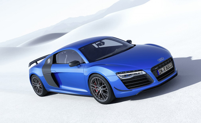 Audi R8 LMX Debuts with Laser Headlights