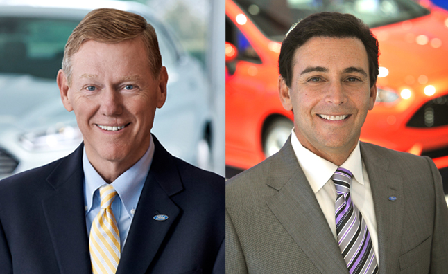 Alan Mulally and Mark Fields