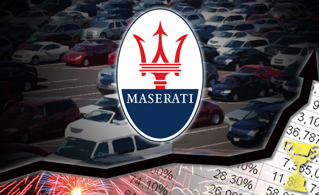 April 2014 Sales Winner Maserati