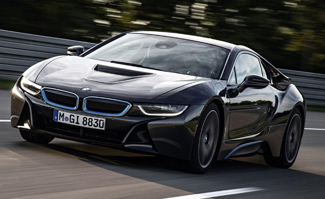 Fewer Than 500 BMW i8s Headed to US This Year