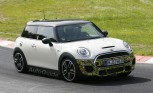 2015 Mini JCW Spotted Testing at the Nürburgring