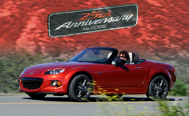 25th Anniversary Mazda Miata Starts at $33,000
