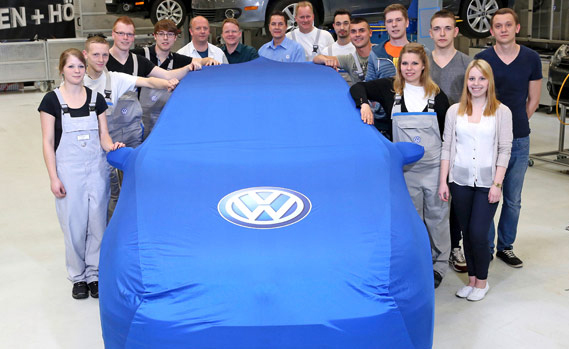Apprentice-Built VW GTI Concept Teased Before Wörthersee