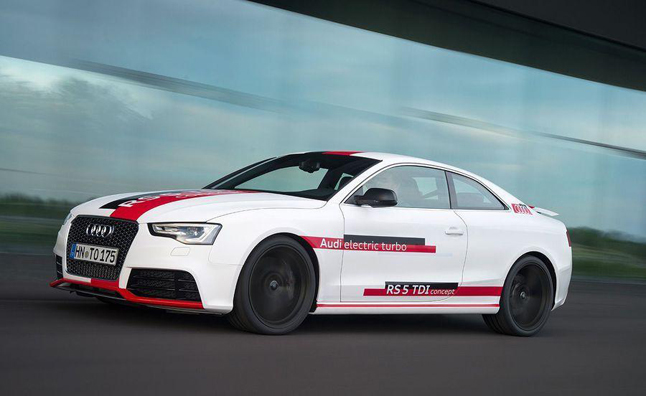 Audi RS5 TDI Concept Packs 385 HP, 553 LB-FT