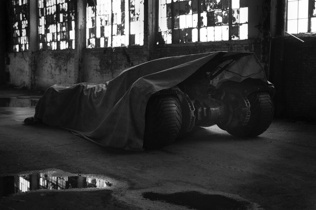 New Batmobile Shows its Badass Side in Teaser