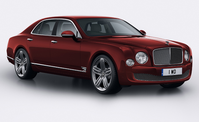 Bentley Mulsanne 95 Trimmed With 400-Year-Old Tree