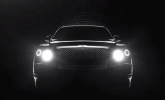 Bentley SUV Teased in New Video