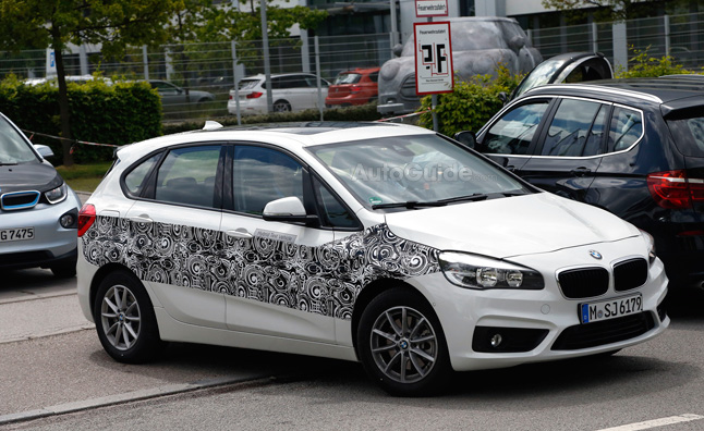 BMW 2 Series Active Tourer Plug-in Hybrid Spied