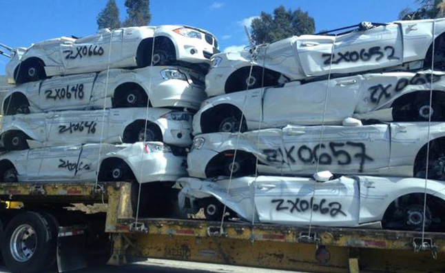 BMW ActiveE Vehicles Headed to the Crusher