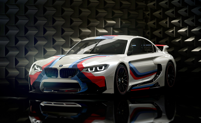 BMW Gran Turismo Concept Previews Performance Future