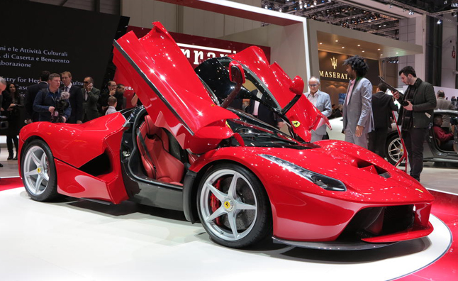 Ferrari LaFerrari Costs at Least as Much as 26 Corvettes