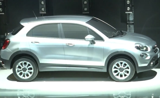 Fiat 500x to Debut en Paris
