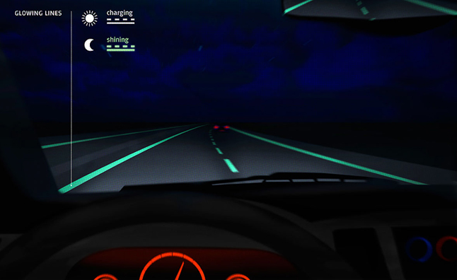 Glow in the Dark Roads Return Underwhelming Results