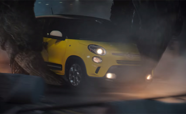 Godzilla Feeds on Fiats in Latest Commercial