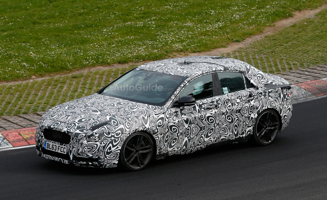 jaguar-xe-spy-photo-nurburgring