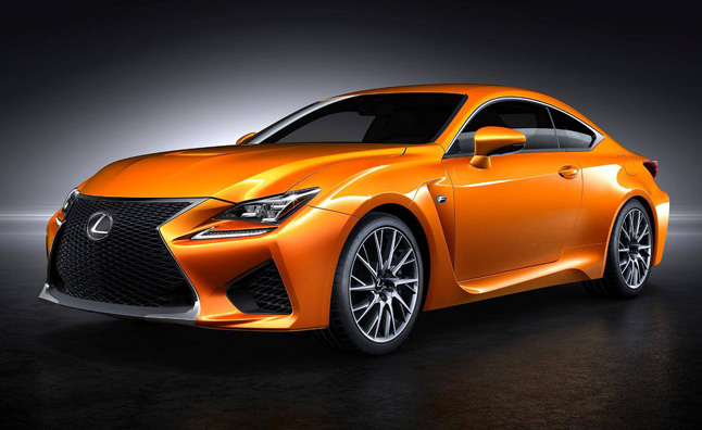 Help Name the Lexus RC F's Newest Color