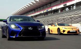 Lexus RC F Video Details Development Process