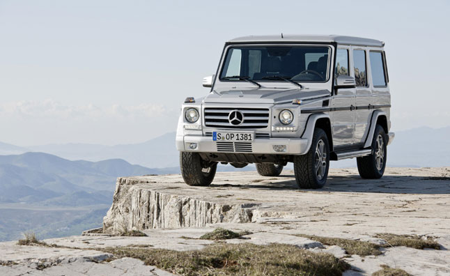 2017 Mercedes G-Class to Get Bigger but Lighter