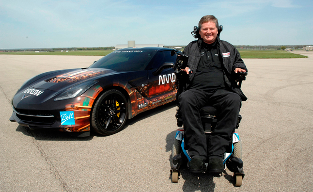 Paralyzed Driver to Pilot Corvette at Indy 500