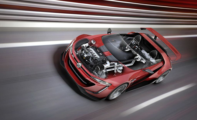 Volkswagen GTI Roadster Concept Revaled With 503-HP