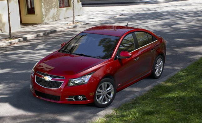 Chevrolet Cruze Sales Halted for Airbag Issue