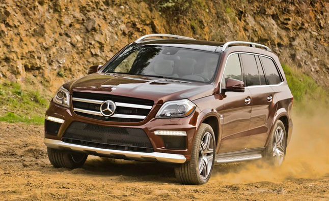 Mercedes GL-Class Least Likely to be Recovered From Theft