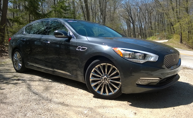 2014 Kia K900 Five-Point Inspection