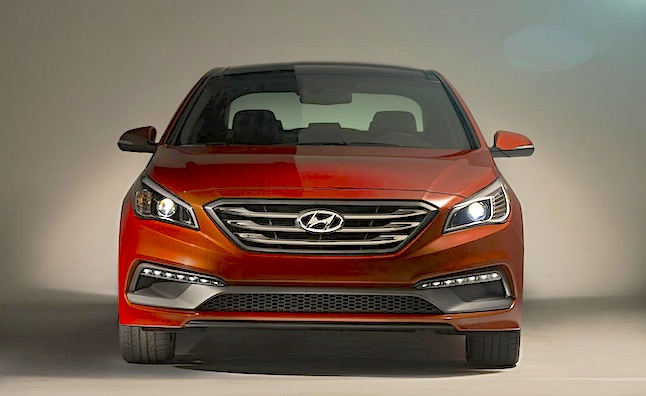 2015 Hyundai Sonata 2.4L Gets Slightly Improved MPG