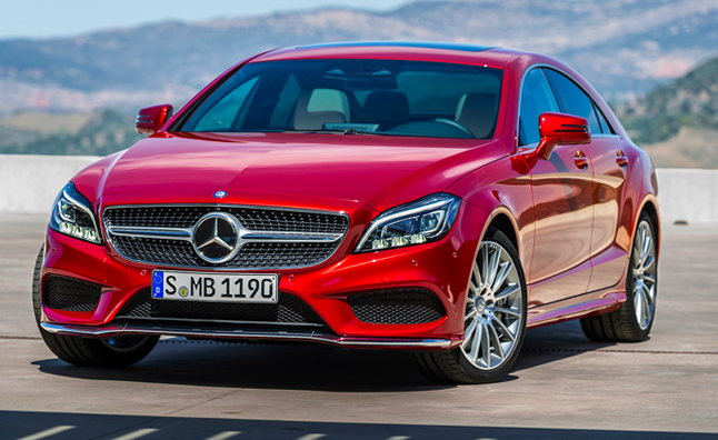2015 Mercedes-Benz CLS Gets Nine-Speed Auto